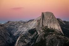 Yosemite Half Dome, Glacier Po...