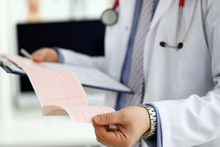 Male Medicine Doctor Hands Hol...