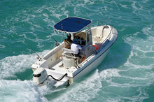 Open Sport Fishing Boat With B...