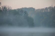 Sunrise On A Foggy Morning At ...