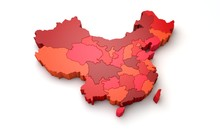 Map Of China Showing Regional ...