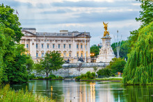 Facade Of Buckingham Palace In...