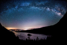 The Milky Way And Starry Sky S...
