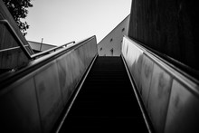 An Escalator Photographed From...