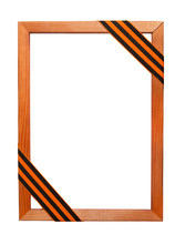Wooden Portrait Frame With St....
