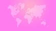 canvas print picture - World map illustration