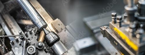 Cuadros en Lienzo Industrielle Fertigung in der Fabrik / Industriemaschinen