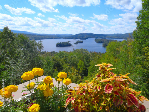 Fotografie, Tablou A road trip of the Hudson Valley views of the Hudson River in New York