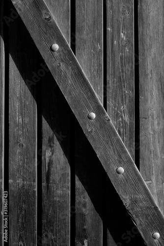 Obraz Full Frame Shot Of Wooden Door - fototapety do salonu