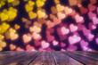 Leinwanddruck Bild - Valentine's day background