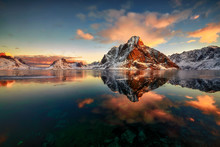 Reine,  Norway, Lofoten Island...
