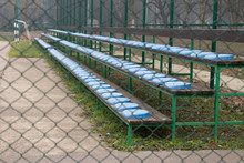 Grand Stand Bleachers With Pla...