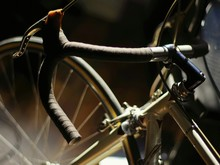 Cropped Image Of Bicycle Handle