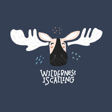 Wilderness Is Calling Freehand...