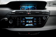 Car Air Conditioning Panel On ...