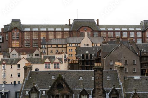 Fotografie, Obraz Historic town houses