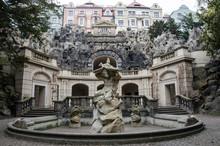 Statue Of Neptune, Grotta Foun...