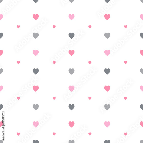 seamless-pattern-in-stylish-pink-and-grey-hearts-on-white-background-for-fabric-textile-clothes-tablecloth-and-other-things-vector-image