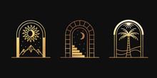 Vector Abstract Logos And Bran...