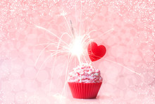 Valentines Day Cupcake. Cupcak...