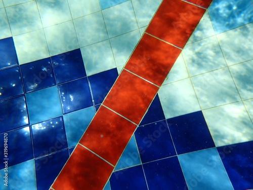 Obraz Full Frame Shot Of Swimming Pool - fototapety do salonu