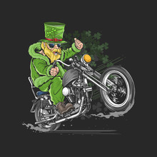 ST. PATRICK'S DAY MOTORCYCLE B...