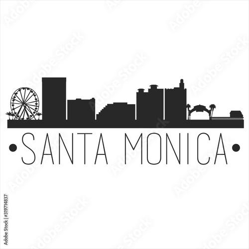 Fotografie, Obraz Santa Monica California