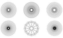 スピログラフ風素材