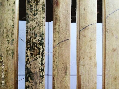 Fotomural Detail Shot Of Bamboos