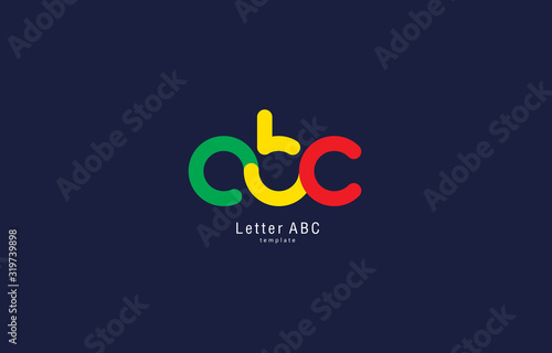 Photo ABC colored logo