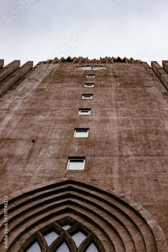 Valokuvatapetti Low Angle View Of Hallgrimskirkja