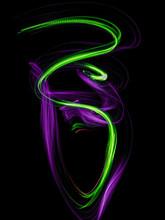 Light Painting Serpent Snake O...