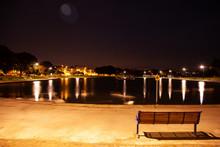 England Portsmouth Bei Nacht, ...