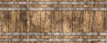 3d Beer Barrel Wooden Texture Background