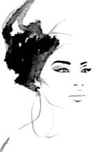 African Queen Illustration