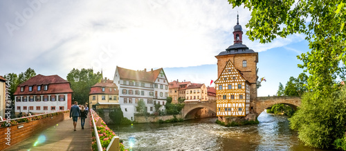 Altes Rathaus, Bamberg, Deutschland Fototapete