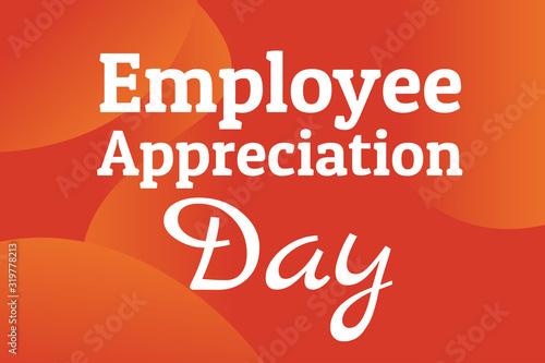 Photo Employee Appreciation Day concept