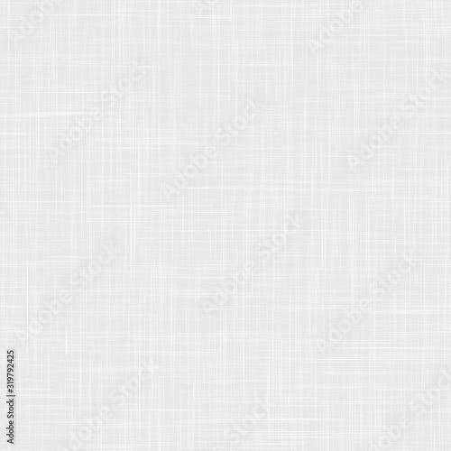 Fotografiet White woven linen fabric texture background