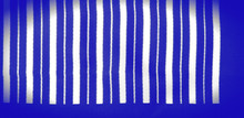 Silk Striped Fabric. Blue Whit...