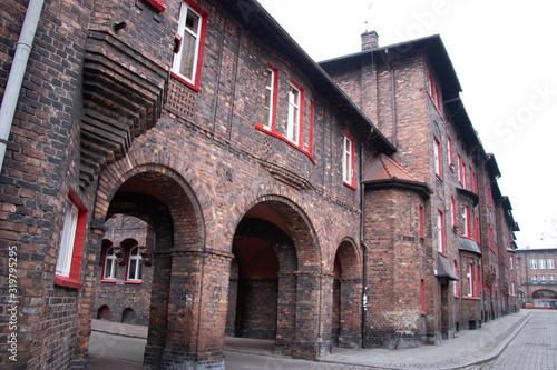 Nikiszowiec, Katowicw, Polonia Fototapete