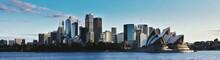 Panoramic Shot Of Sydney Opera...