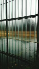 Pool By Window In Building