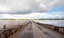 View Of The Pontoon Bridge Ove...