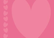 Simple Vector Love Card Backgr...