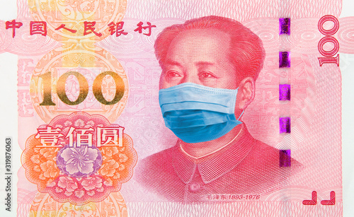 Coronavirus Wuhan Sars illness Billede på lærred