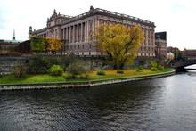 Riksdagshuset På Helgeandshol...