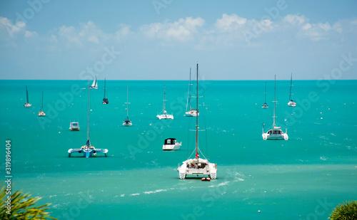 Photo Tropical marina, Airlie Beach, Queensland