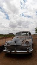 Vintage Abandoned Car Under Cl...