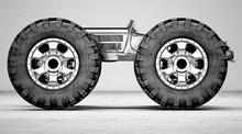 Vintage Steampunk Car Drawing,...
