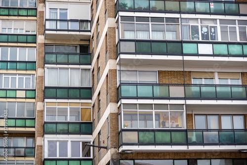 Photo Formas abstractas para fondos y composiciones de edificios en una ciudad